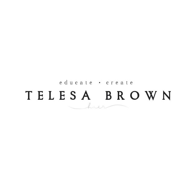 TELESA BROWN Hair